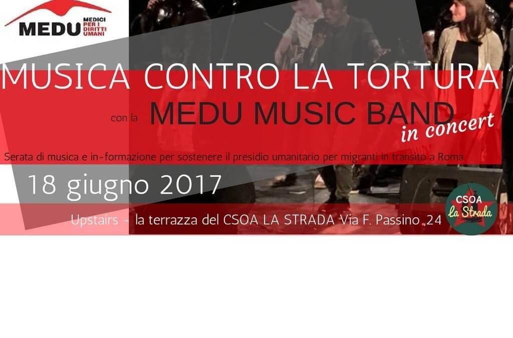 Musica contro la tortura – MEDU MUSIC BAND in concert
