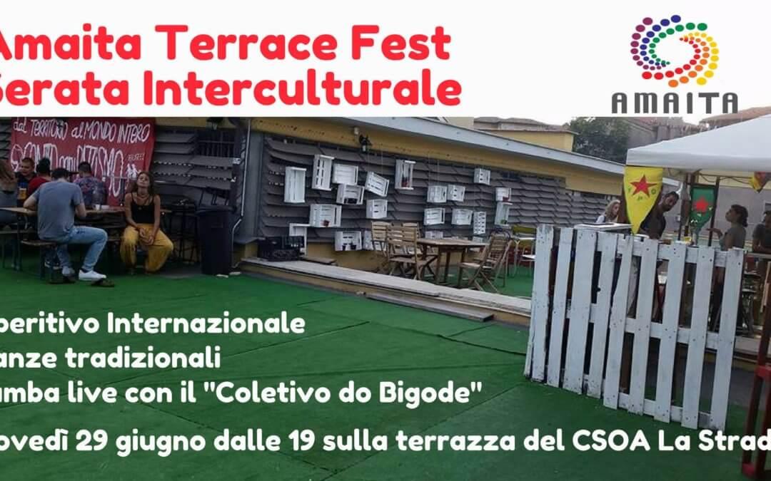 Amaita Terrace Fest – Serata Interculturale