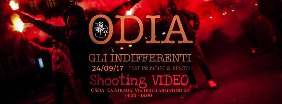 "Dead Poets ""ODIA GLI INDIFFERENTI"" Shooting VIDEO"