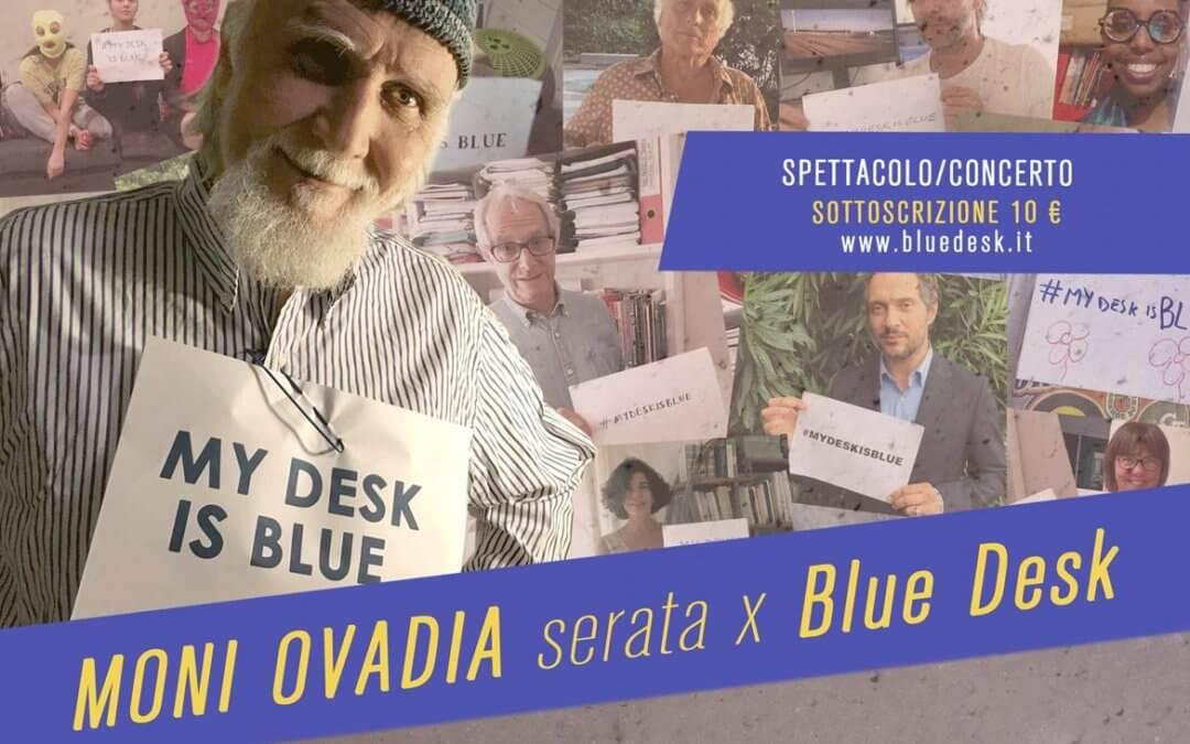 Moni Ovadia 'Serata per Blue Desk'