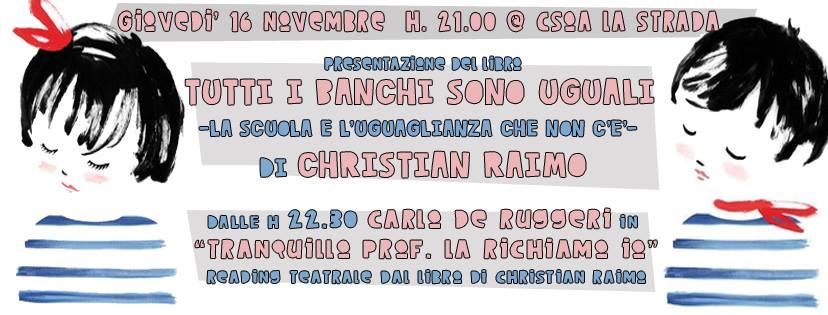Raimo – De Ruggeri in Una Notte per Scuola Pop