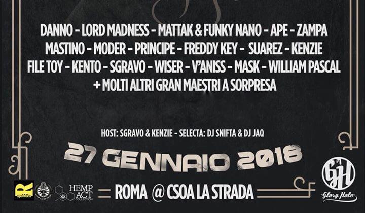 DJ FASTCUT ROMA DEAD POETS SHOW + CONTEST4FEAT