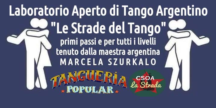 Laboratorio Aperto di Tango Argentino ★ csoa La Strada