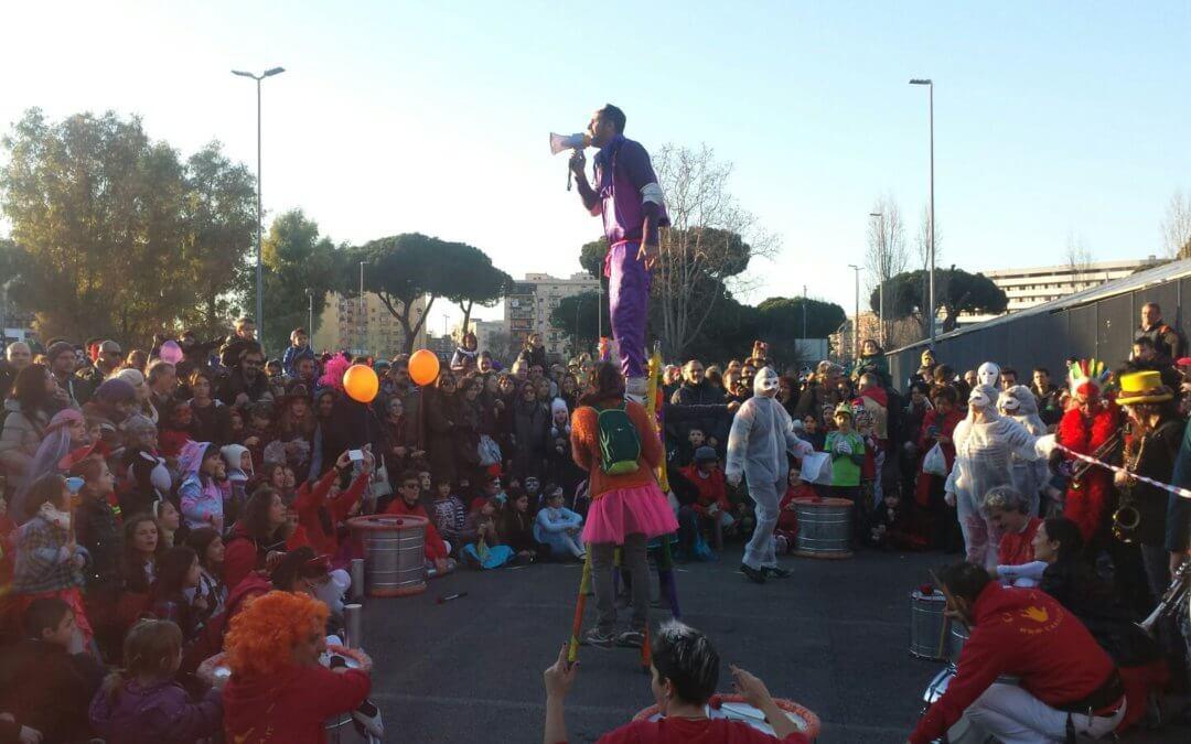 Carnevale Antirazzista 2018, con il cuore a Macerata