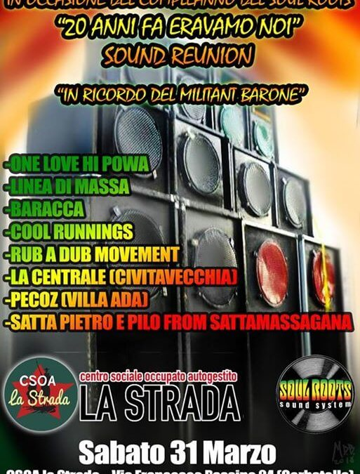 Soul Roots Sound System 20th Anniversary – Sound Reunion