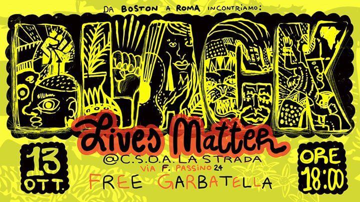 5 anni di Black Lives Matter @Csoa La Strada