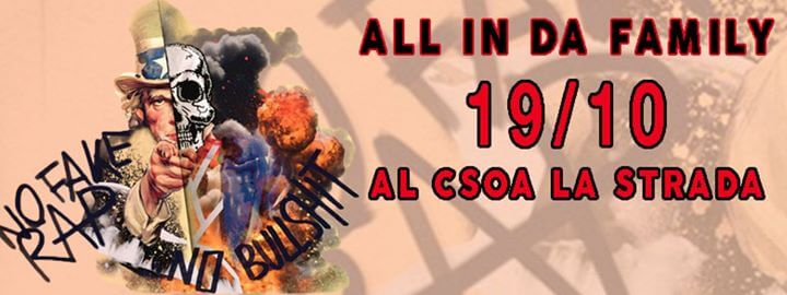 ALL IN DA Family // FreeJam & Presentazione di Bastardi Senza Gloria