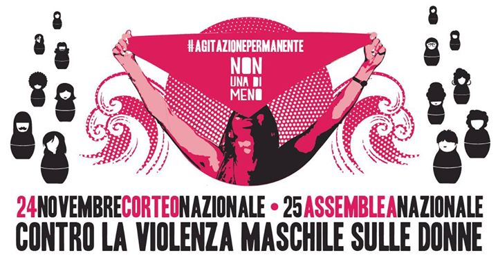 24 Novembre – Manifestazione nazionale di Non una di meno