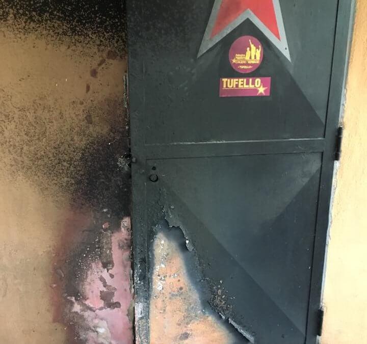 Incendio alla Palestra Popolare Valerio Verbano – Ci sono cose che non bruciano!