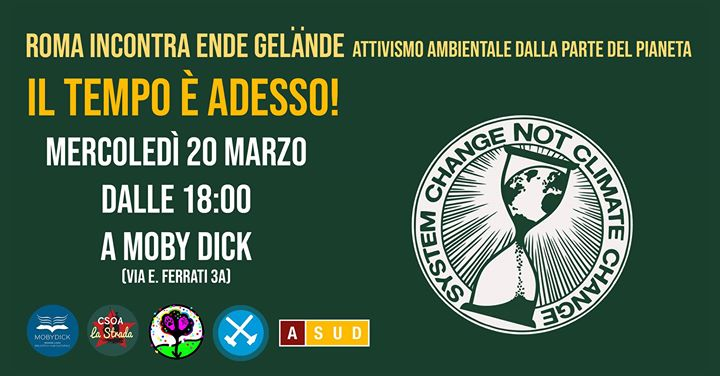 Roma incontra Ende Gelände – Attivismo ambientale dalla parte del Pianeta