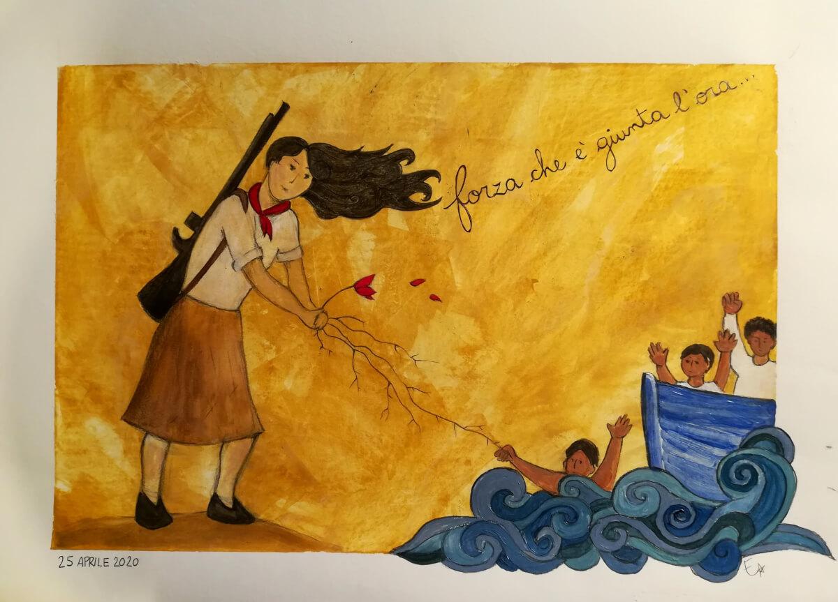 La Solidarietà è un'arma... di Lotta e di Liberazione! - di Erica Silvestri