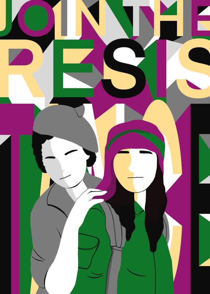 Illustrazione di Yele Maria e Tony Tres
