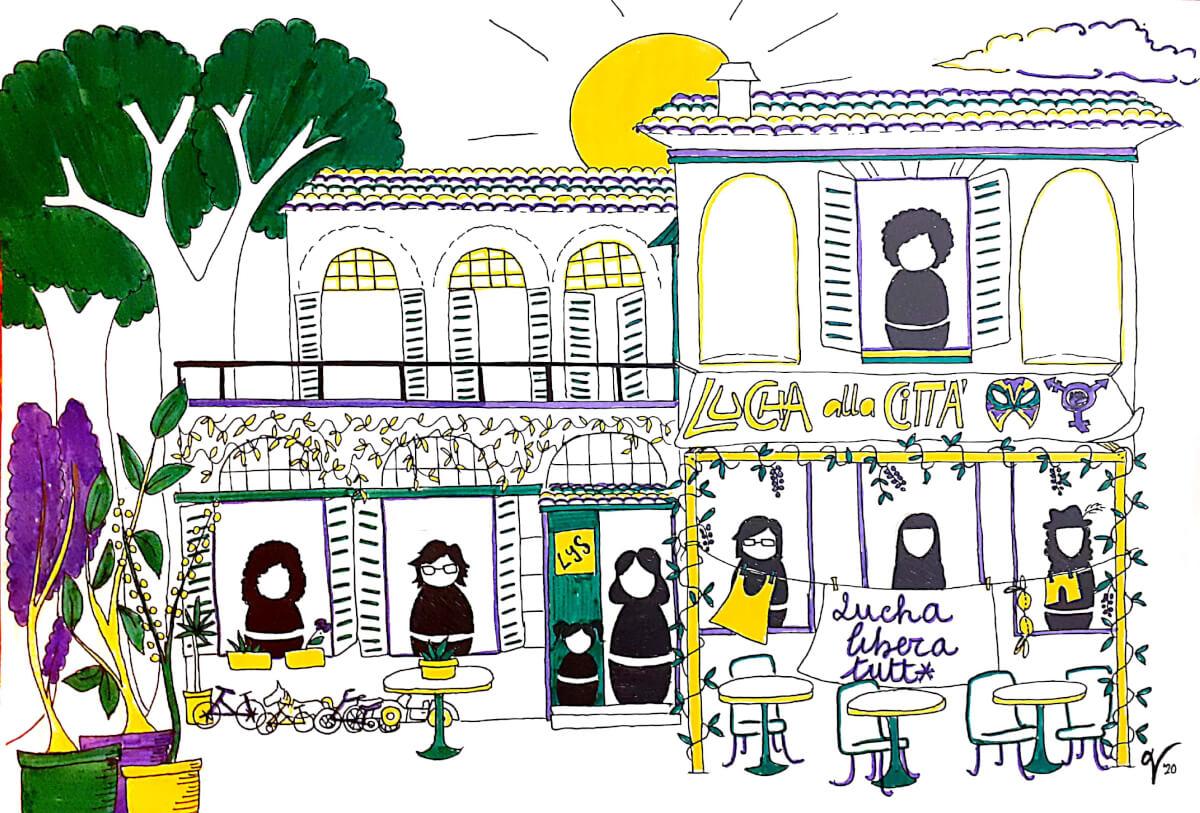 I luoghi delle donne esistono e Resistono - di Viola Delfina