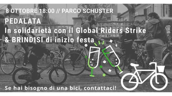 Pedalata per il Global Riders Strike + Brindisi!