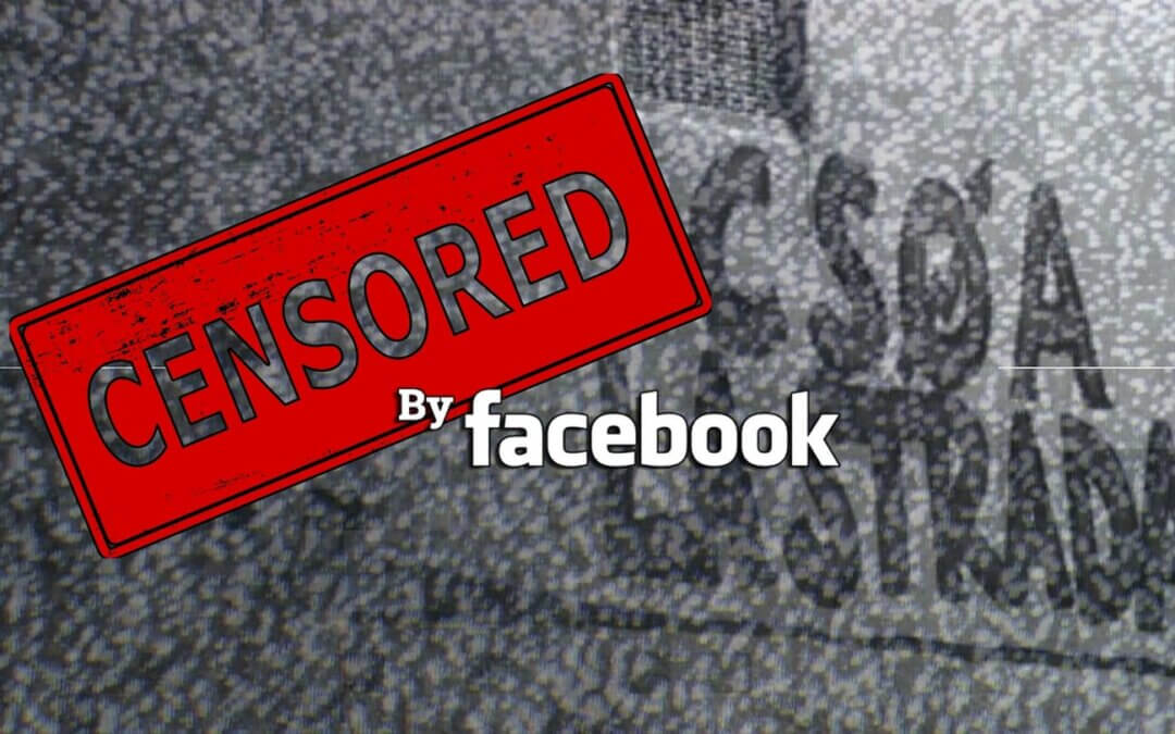 E' tornata la censura di facebook