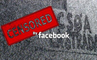 E' tornata la censura di facebook